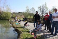 Uz tradicionalno okupljanje obitelji članova Udruge, otvorena je i ribolovna sezona