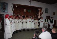 Nastupile sve sekcije KUD-a domaćina te tamburaši i folkloraši KUD-a Pregrada