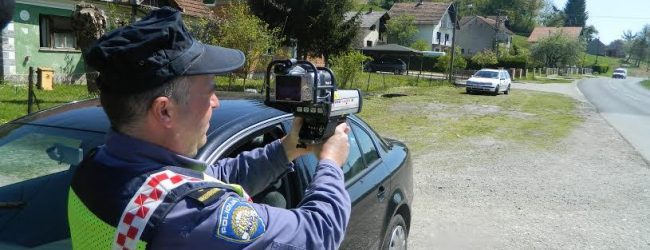 Na zagorskim prometnicama zabilježeno 90 prekršaja zbog prebrze vožnje