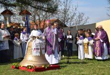 Povijesni dan: Blagoslovljeno novo zvono crkve sv. Marije Snježne, zaštitnice naše županije