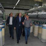 Dnevna proizvodnja povećana s 19 na 25 tona prediva i zaposleno 40 novih radnika