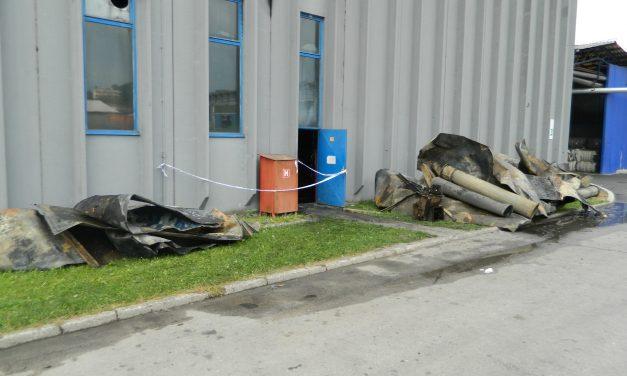 Do požara opet došlo kod stroja za preradu netkanog tekstila