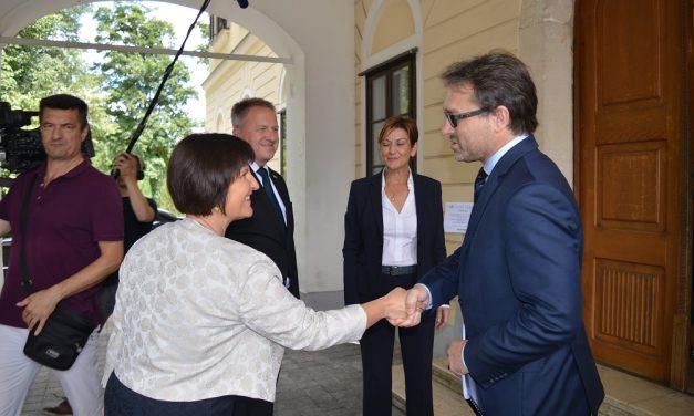 """""""Naš je cilj ohrabriti daljnji razvoj gospodarske suradnje između Hrvatske i Slovenije"""""""