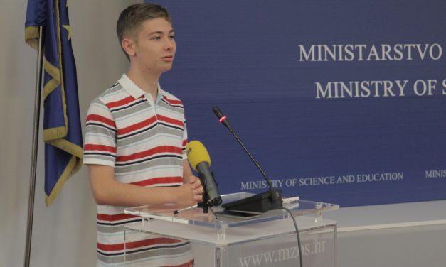 Timon Spiegl iz Srednje škole Krapina najuspješniji učenik na državnoj maturi
