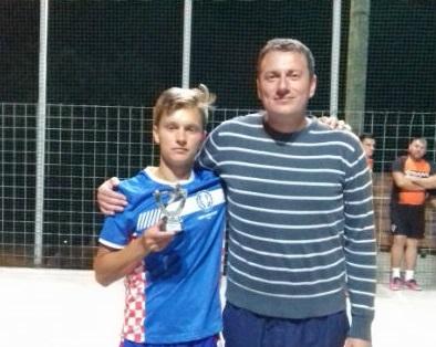 Pobjednik turnira ekipa Štefan d.o.o, najbolji igrač Mladen Pavić iz SD-a Đurmanec