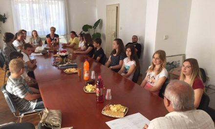 Načelnik Škreblin održao prijem za najuspješnije učenice i učenike u protekloj školskoj godini