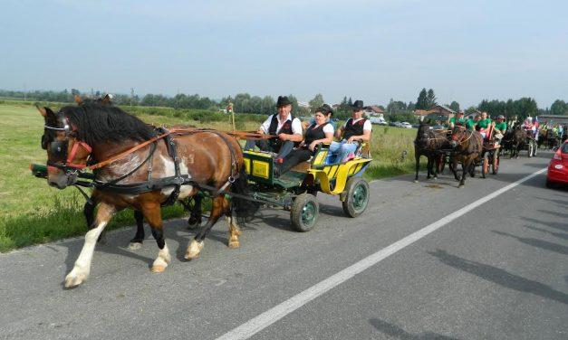 U subotu Susret klapa, a u nedjelju 15. Hodočašće konjskih zaprega u Svetište Majke Božje Bistričke