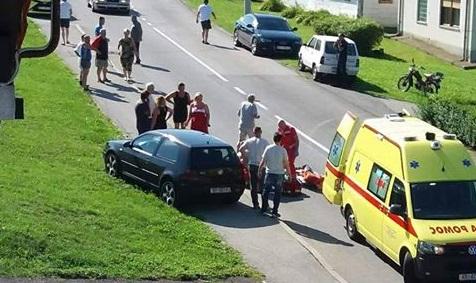 Zbog prebrze vožnje udario staricu koja je prelazila cestu i teško je ozlijedio