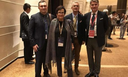 Hrvatska delegacija: Matej Balen, Jasna Vukas, Ernest Svažić, Nebojša Koharović