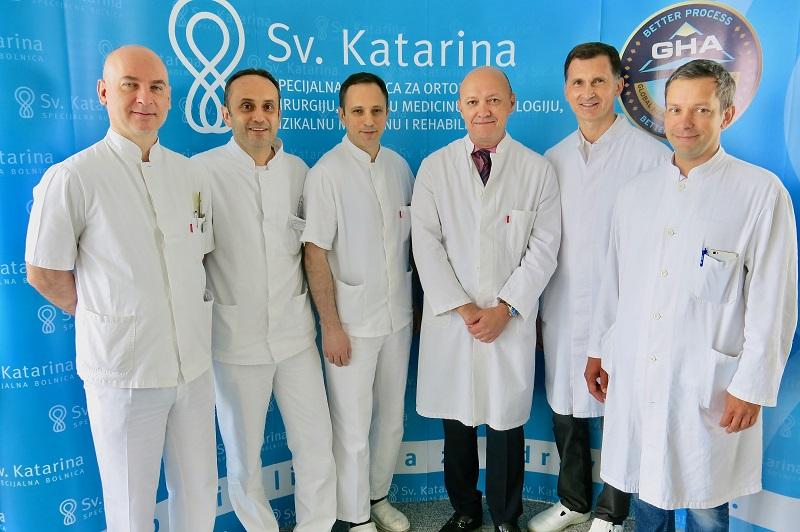 """U Specijalnoj bolnici """"Sv. Katarina"""" uvedena nova metoda liječenja kronične boli koljena"""