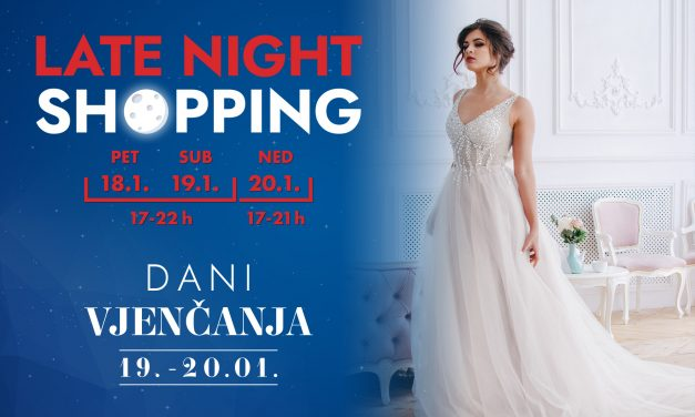 Dani vjenčanja i Late Night Shopping u Westgateu