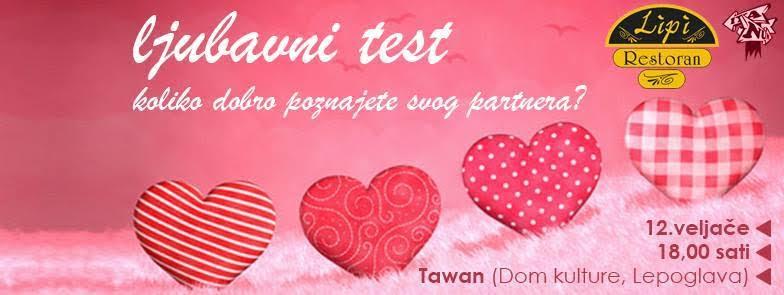 """Sudjelovanjem u kvizu """"Ljubavni test"""" saznajte koliko dobro poznajete svog partnera"""
