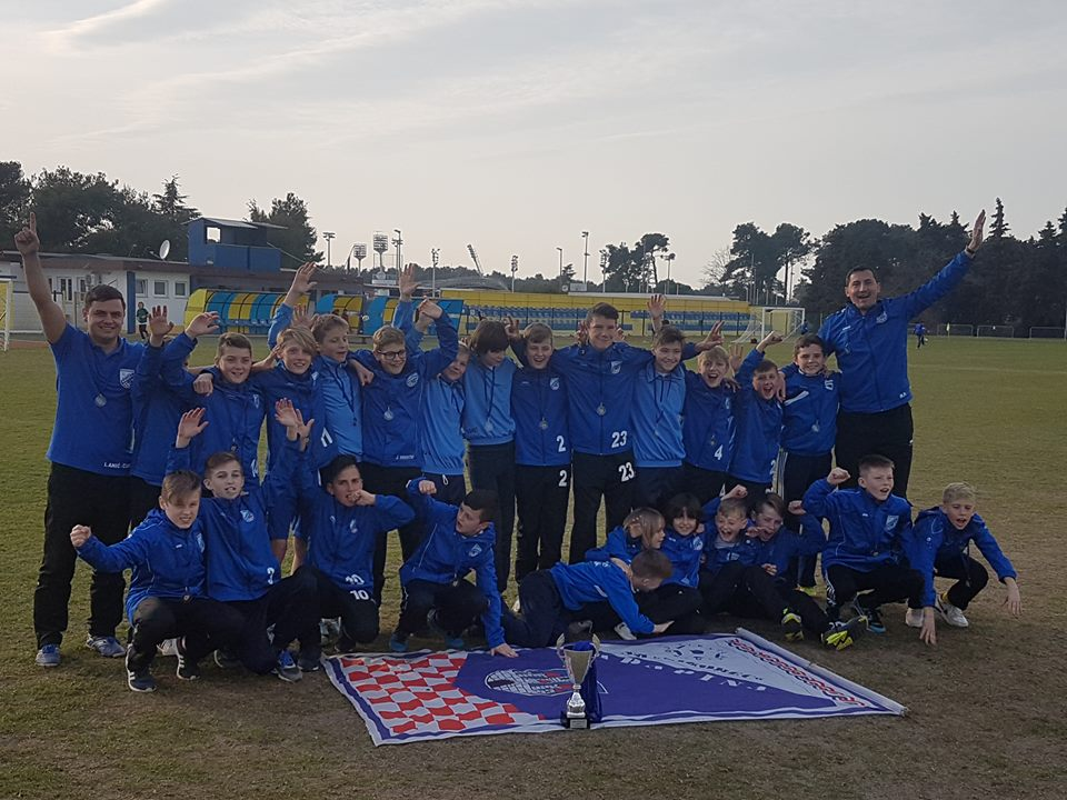 Mlađi pioniri na turniru u Umagu osvojili broncu