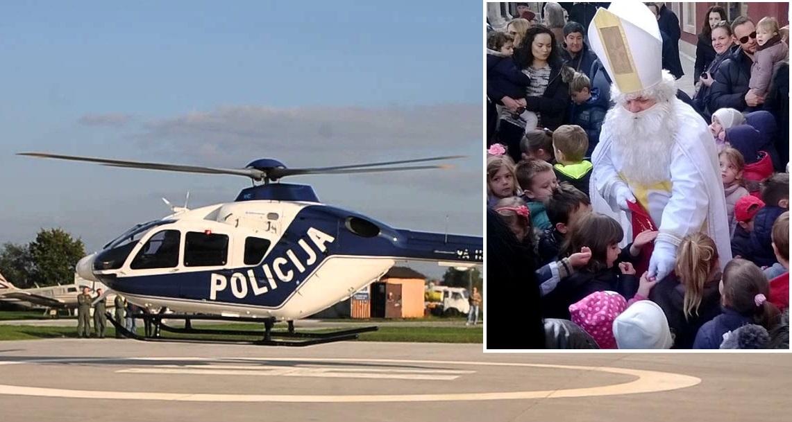 KAKAV BI TO TREBAO BITI DOŽIVLJAJ NIKOLINJA ZA KRAPINSKE MALIŠANE: Sveti Nikola dolazi dijeliti poklone na srednjoškolsko igralište – helikopterom!