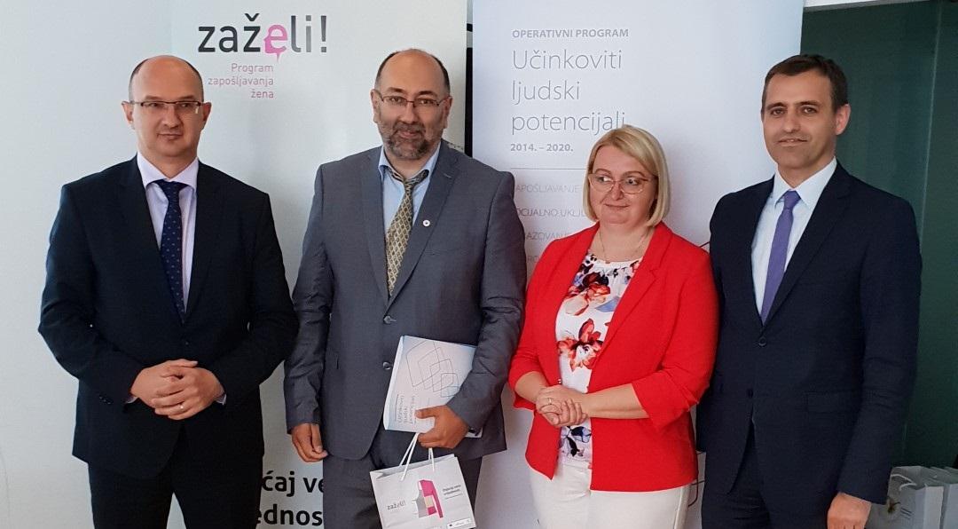 """""""ZAPOSLI-EDUCIRAJ-POMOZI"""": Zaposlit će se 29 gerontodomaćica, koje će skrbiti o 145 starijih osoba"""
