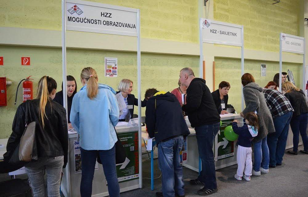 Iz evidencije nezaposlenih izašlo 511 osoba, od čega ih je 339 zaposleno – na burzu istovremeno novoprijavljene 574 osobe