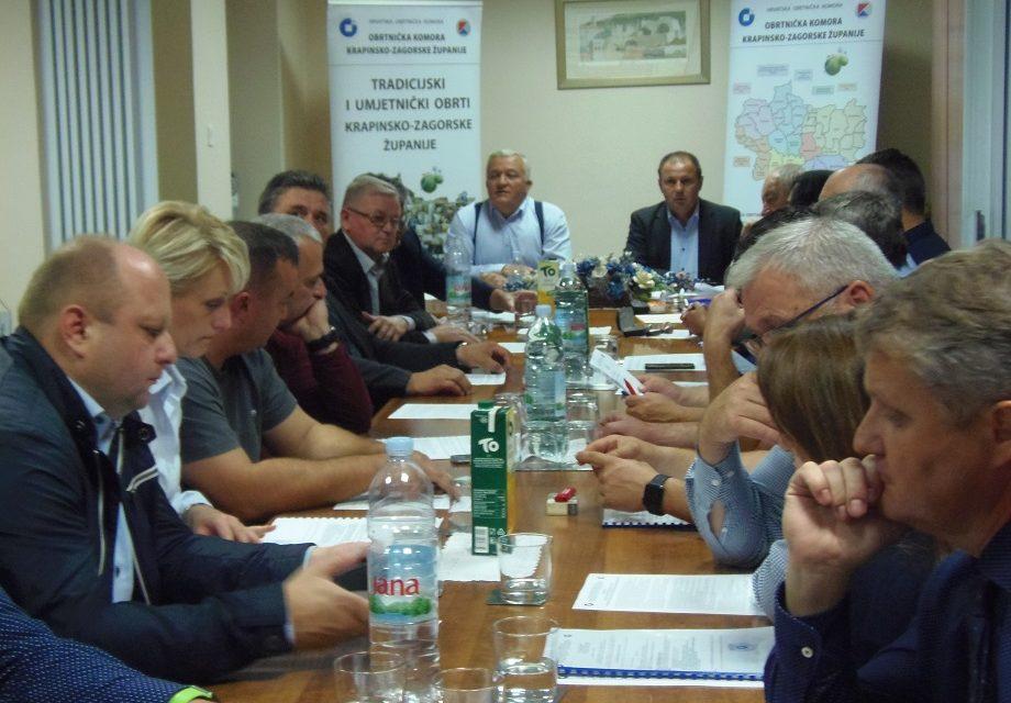 Dosadašnjem predsjedniku Davoru Plešku jednoglasno potvrđen novi mandat, potpredsjednici su Miro Čaržavec i Dragutin Ulama