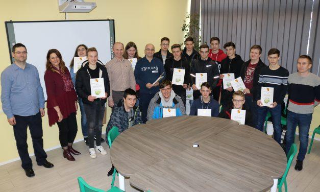 Po tri prva mjesta osvojili učenici SŠ Krapina i Gimanzije AGM-a iz Zaboka te jedno učenik SŠ Zlatar