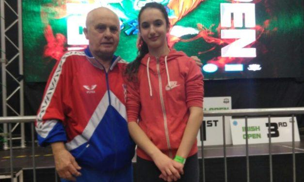 Antonela Cesarec peta u Dublinu, u konkurenciji 22 natjecateljice iz osam zemalja