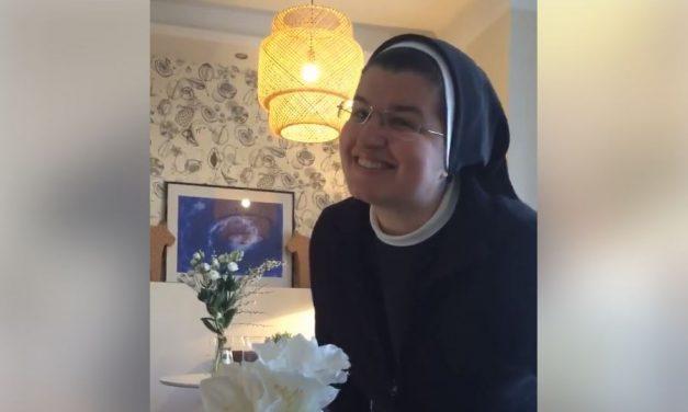 ČASNA SESTRA – REPERICA: S. Dijana Lončarek iz Svetog Križa Začretja ponovno nas je nasmijala svojim videom