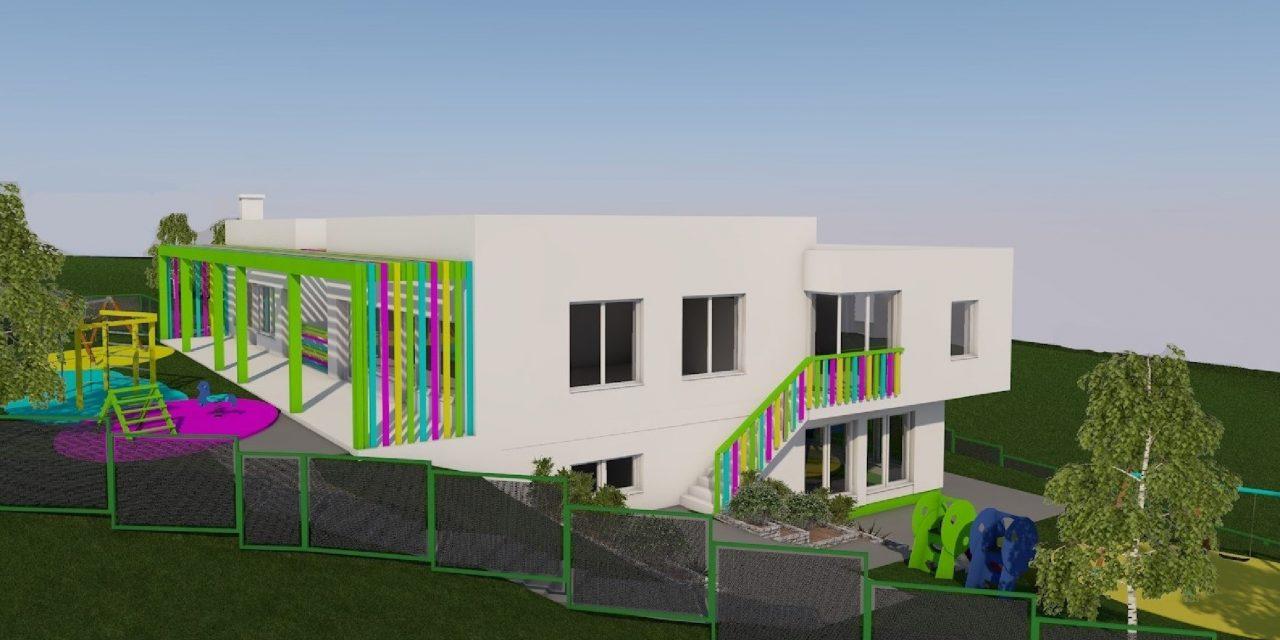 Vrtić će se graditi kraj osnovne škole, moći će primiti 52 djece, a imat će tri odgojno – obrazovne, jednu jasličku i dvije vrtićke skupine