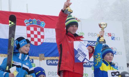 Zlatarski skijaš Tomo Valjak treći u slalomskoj utrci na neslužbenom Svjetskom prvenstvu za mlađe uzraste