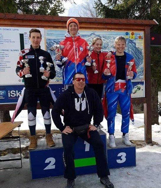 Tri druga mjesta za mladu zlatarsku skijašku nadu