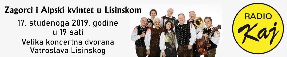 Zagorci i Alpski kvintet u Lisinskom